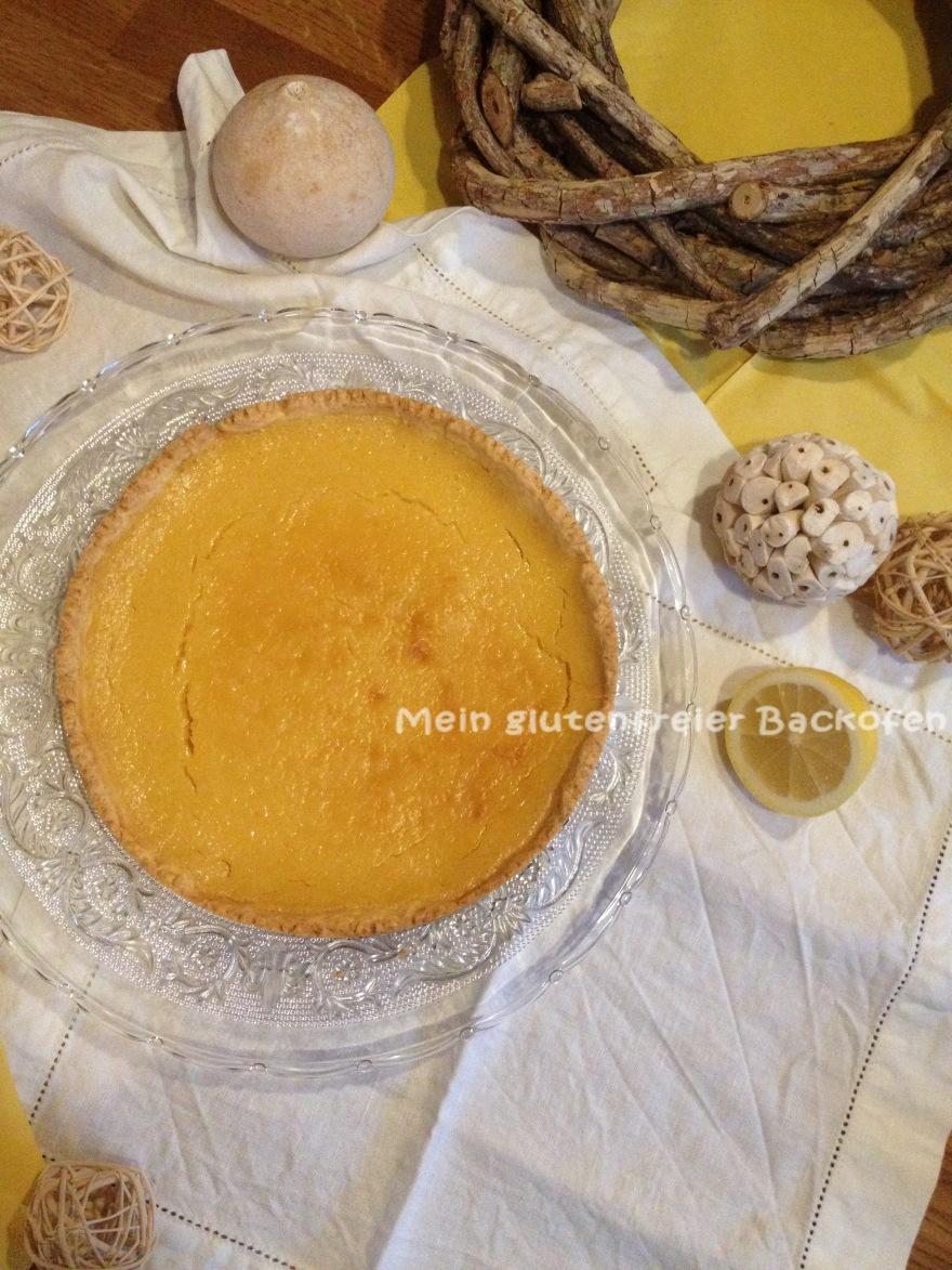 glutenfreie tarte au citron