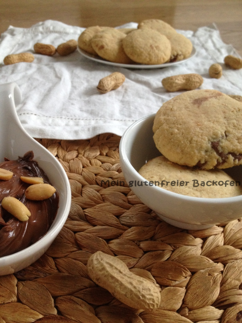 Chocolate-Peanutbutter-Cookies