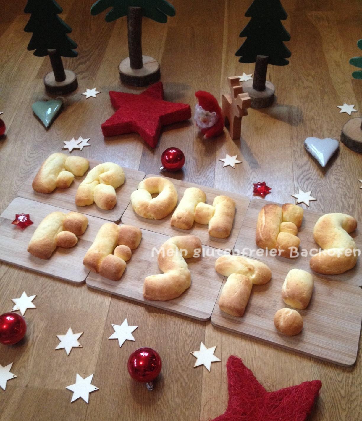 Glutenfreie Weihnachtsplätzchen