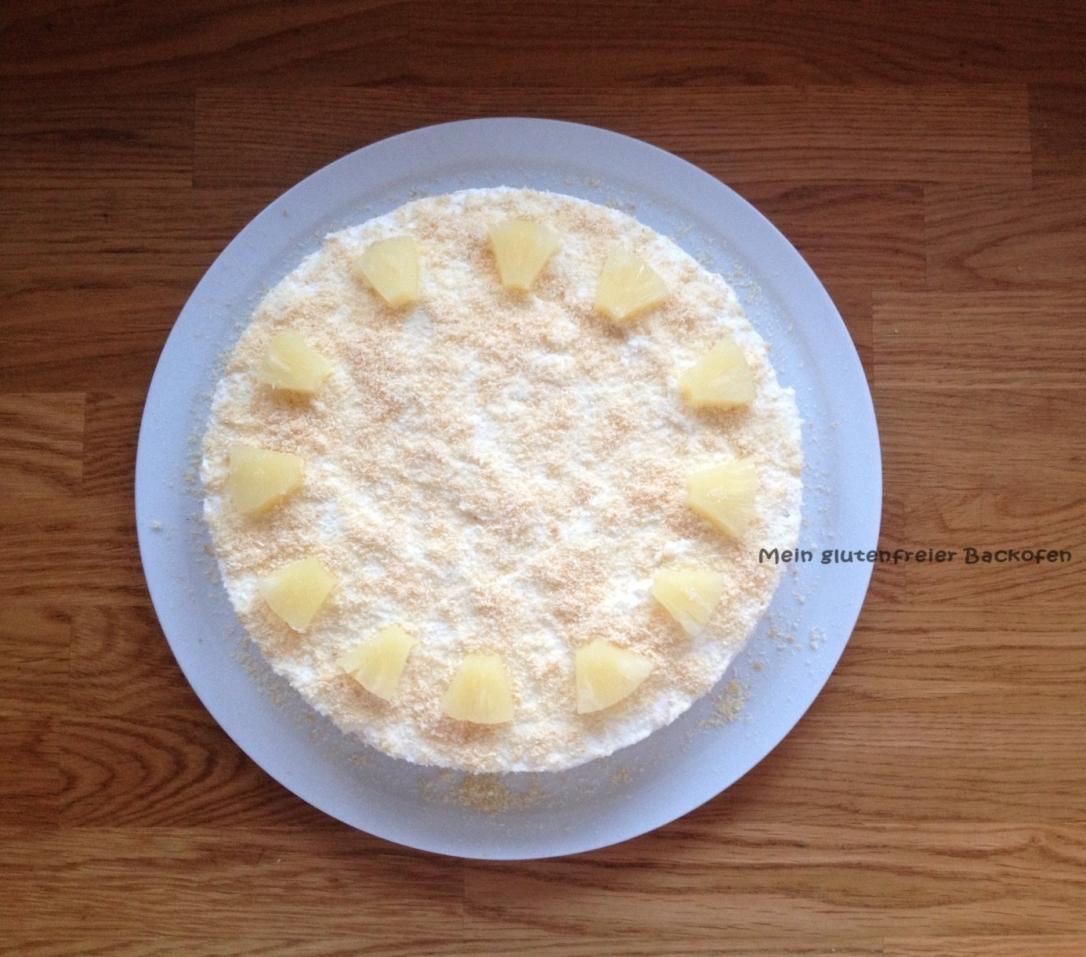 glutenfreie Frischkäsetorte