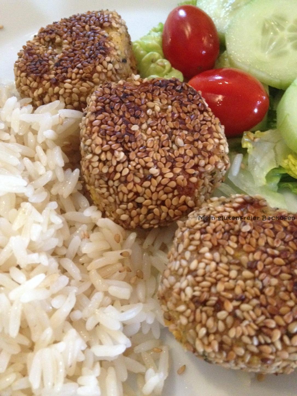glutenfreie Falafel