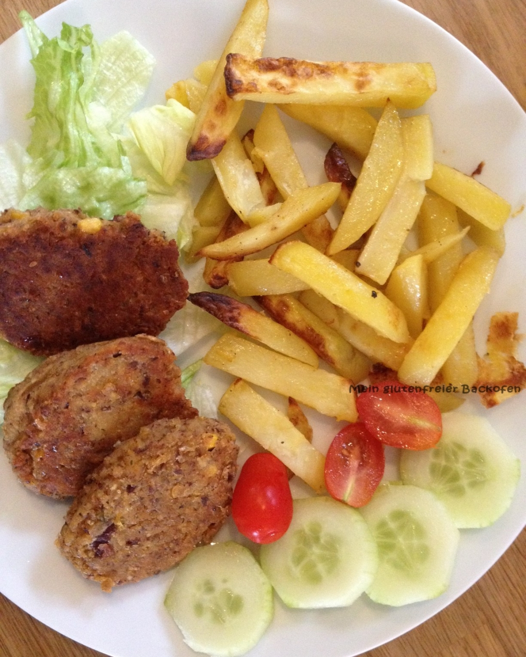 Selbstgemachte Pommes Frittes