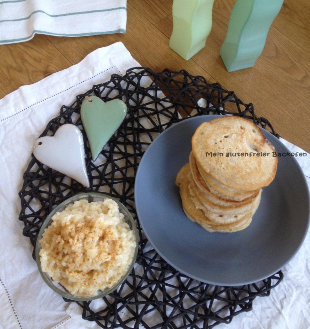 glutenfreie vegane pancakes