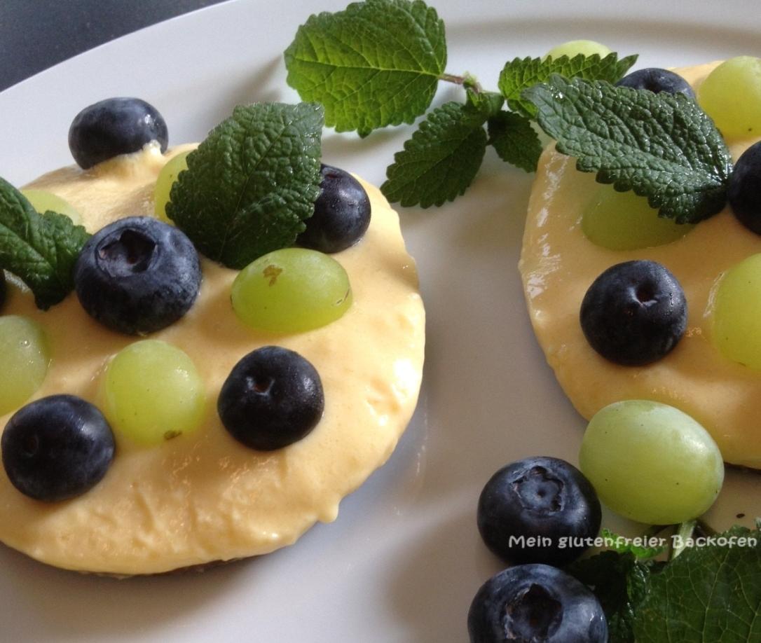glutenfreies veganes Dessert mit Lupine