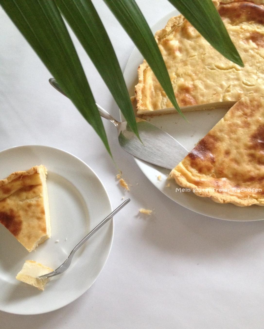 glutenfreier veganer Käsekuchen