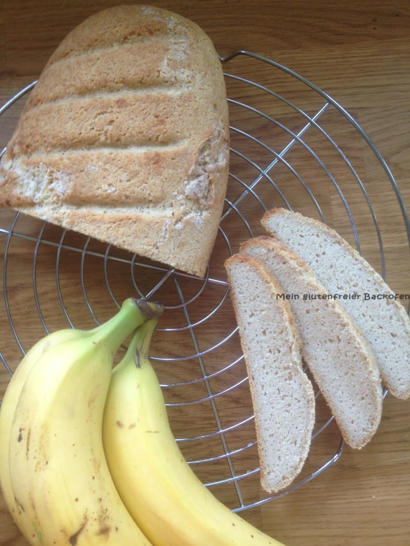 glutenfreies veganes Bananenbrot