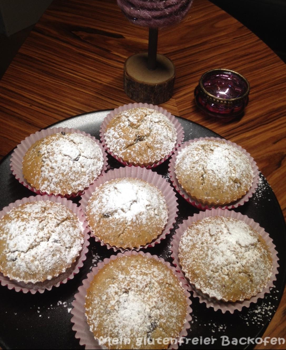 glutenfreie Stollen-Muffins