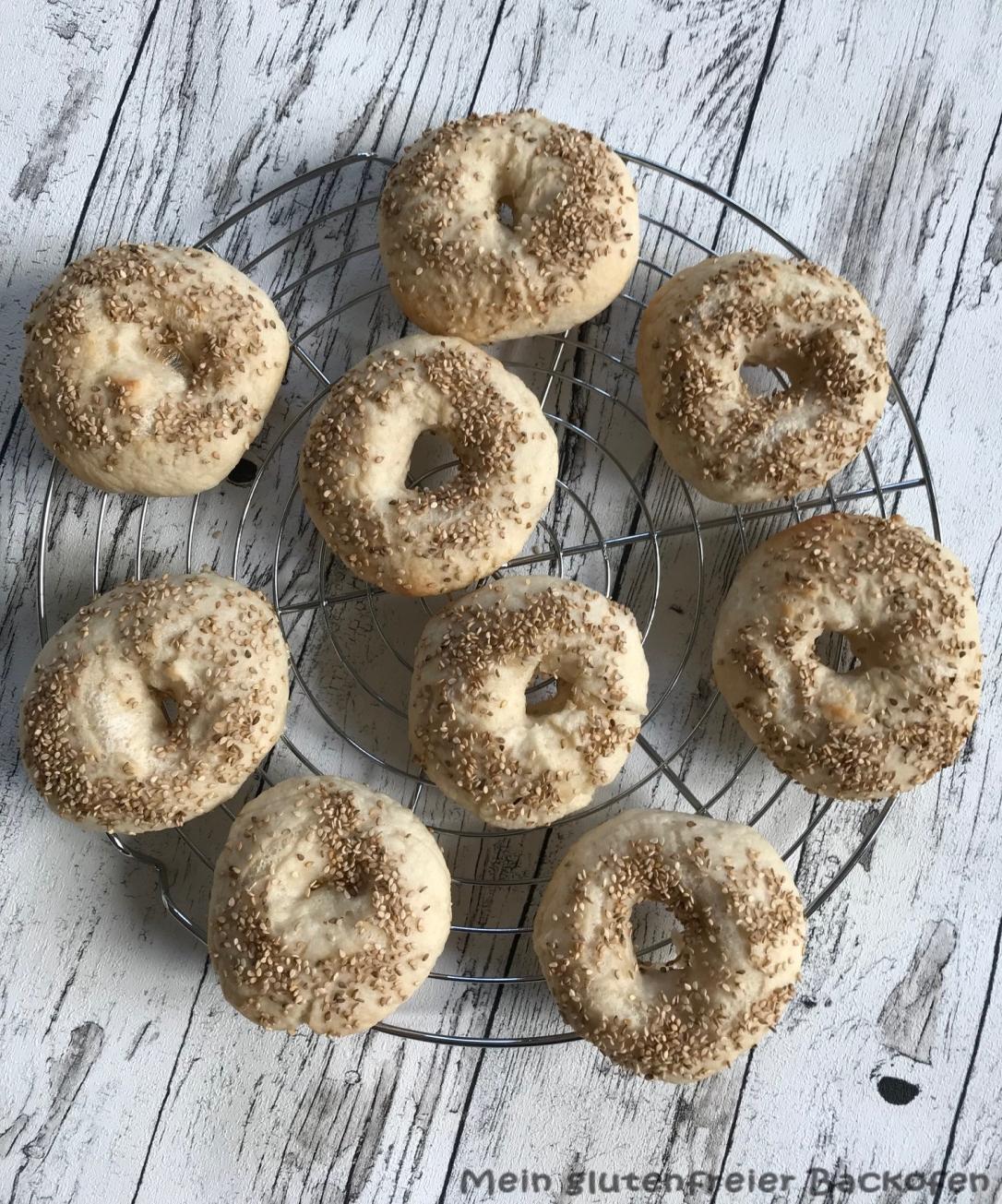 glutenfreie Bagels