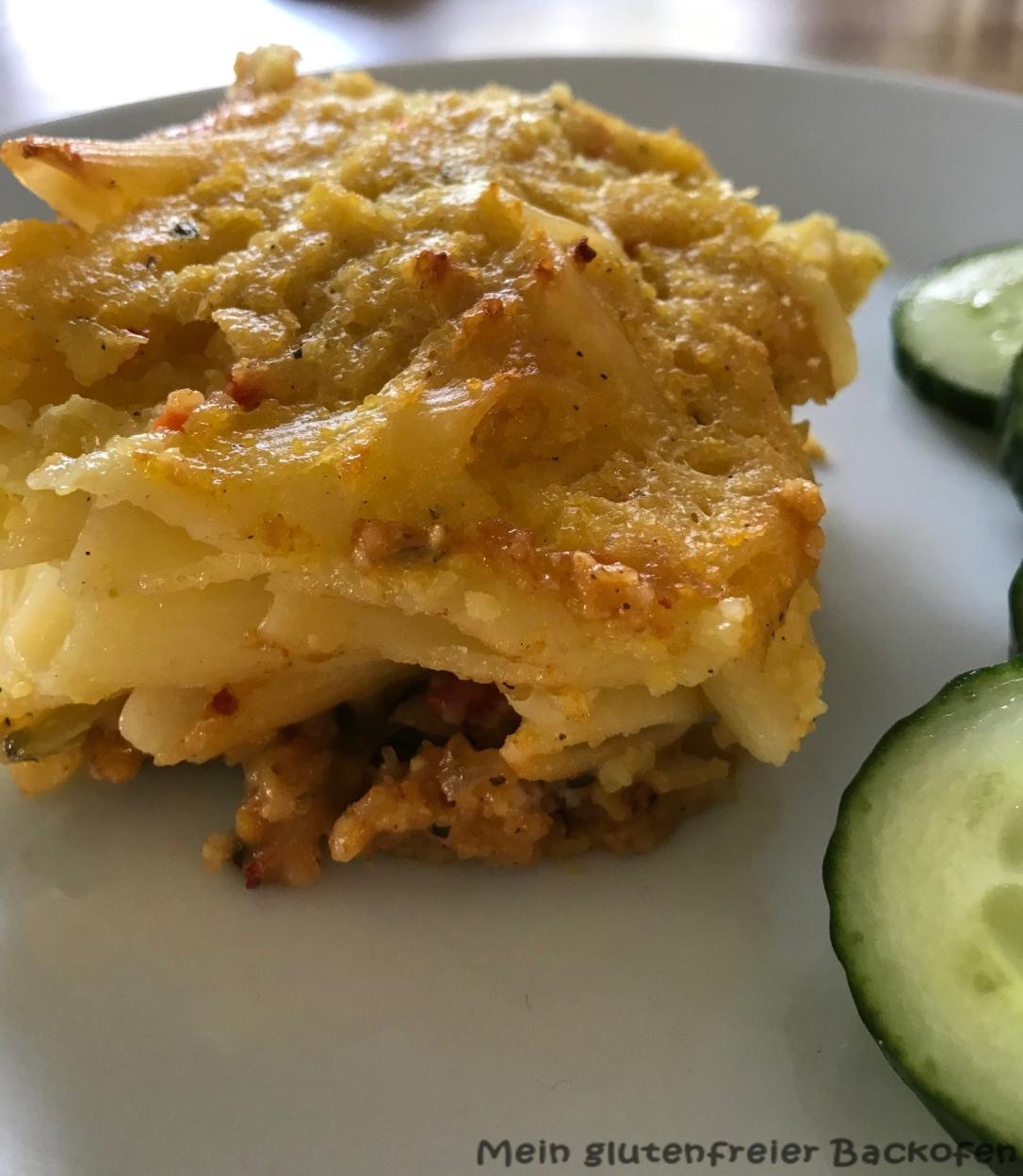 Leckeres fast veganes Rezept für Pastizio