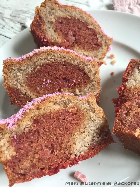 Rote Bete Marmorkuchen vegan