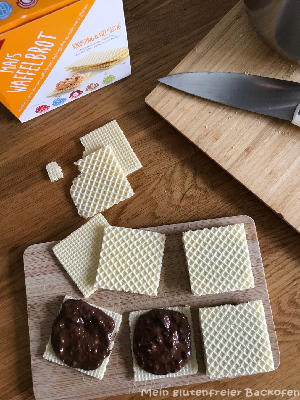 glutenfreie Haselnussschnitte