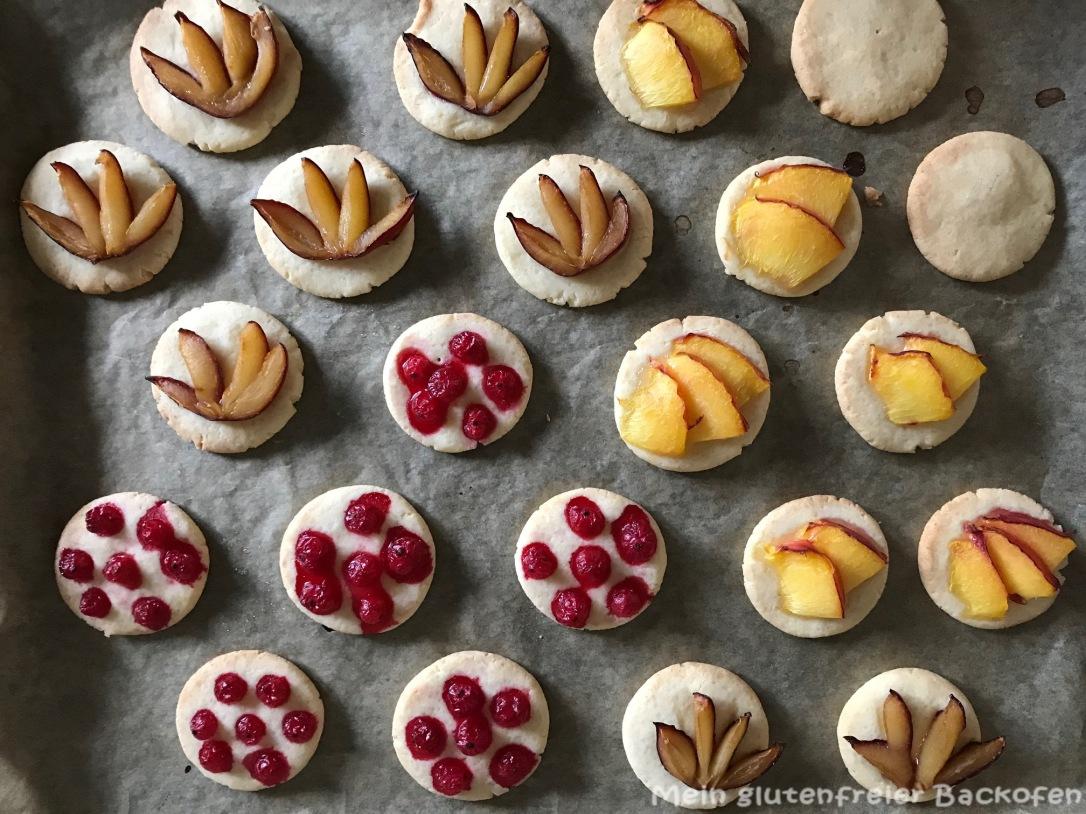 Einfache Kekse mit Obst2