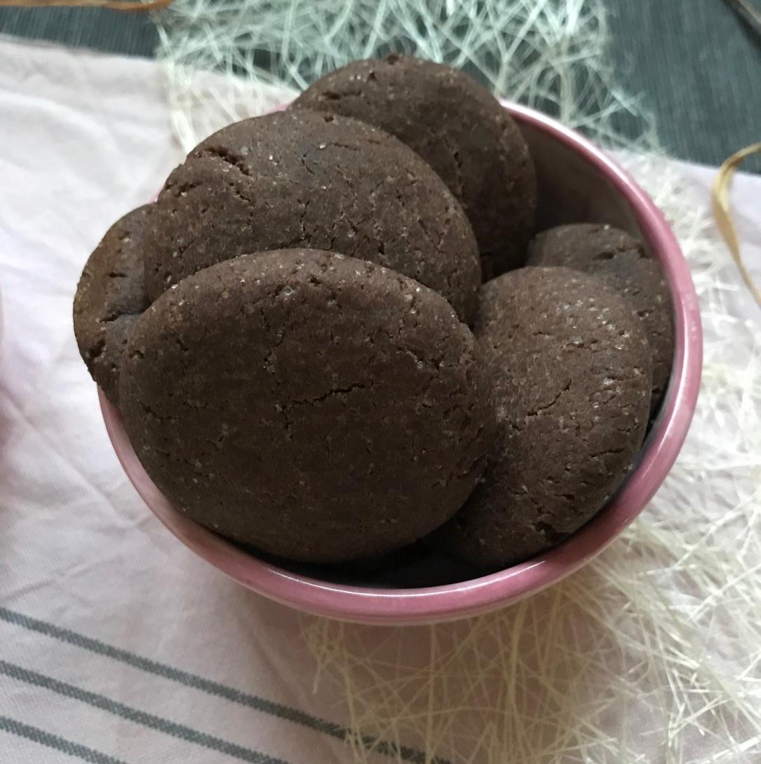 Einfache Kekse Schoko1